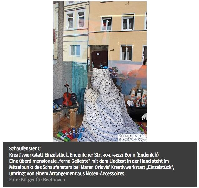 """Publikumspreis: Kreativwerkstatt """"Einzelstück"""" in Endenich"""