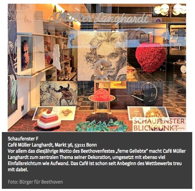 Beethoven in Silber:  Café Müller-Langhardt (Marktplatz)
