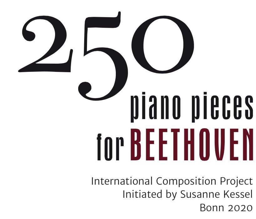 250 piano pieces for Beethoven\